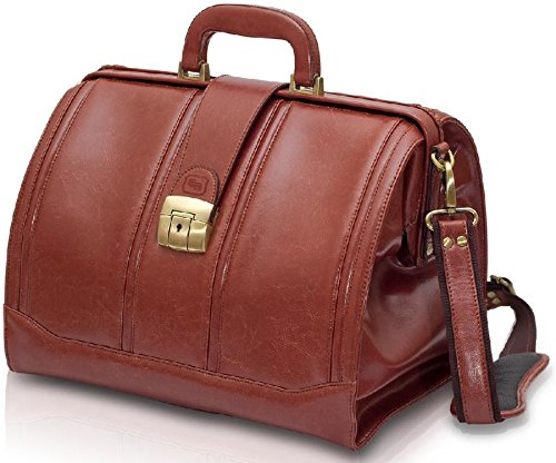 Elite Bags medical leather case for doctors