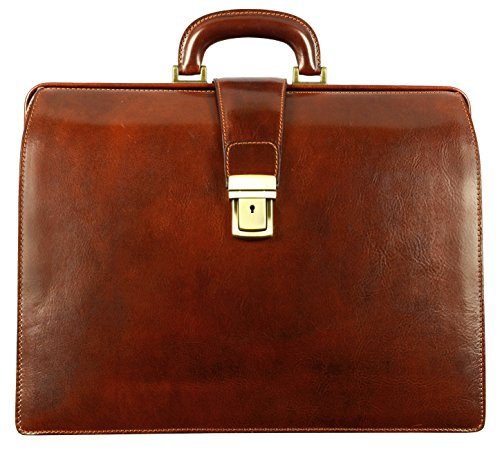 The leather doctor's briefcase