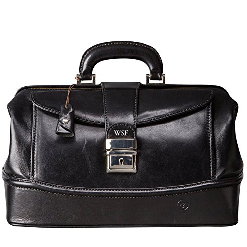 Doctor's briefcase ideal for home visits.
