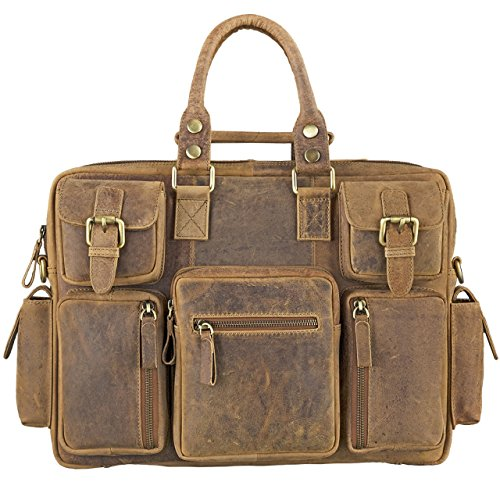 The Vintage leather shoulder bag for teachers with a good value for money.