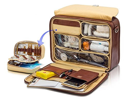 Beautifully organised interior for the doctor's elite bag